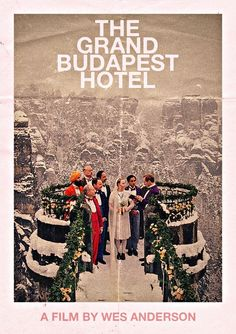 Grand Budapest Hotel alternate poster. Illustrated by unknown artist.