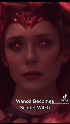 Wanda Becomes Scarlet Witch