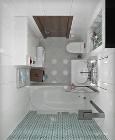 31 Ideas bath room design plan tiny house for 2019 Small Bathroom Layout, Modern Small Bathrooms, White Bathroom Tiles, Tiny Bathrooms, Tiny House Bathroom, Laundry In Bathroom, Master Bathrooms, Shower Bathroom, Small Bathroom Plans