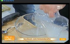 La cucina del recupero: tutto fujuto Con le ricette di oggi si recupera l'acqua di governo della mozzarella, che in genere si butta e che invece utilizzerò per preparare montanare fritte e gnocchi.