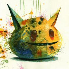 Cute Little Blob Monsters - Jeff Soto - My Modern Metropolis
