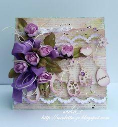 moje papierowe hobby, Easter card