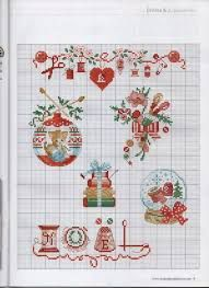 Image result for free counted cross stitch christmas patterns