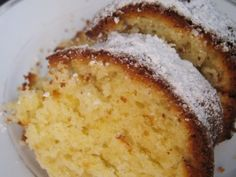 Yogurt Cake with Lemon Greek Sweets, Greek Desserts, Greek Recipes, Desert Recipes, Sweets Recipes, Cake Recipes, Cooking Recipes, Cupcakes, Cupcake Cakes