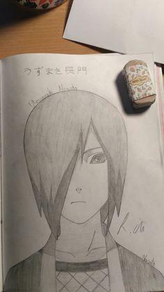 This is Uzumaki Nagato from Naruto. Sasuke Drawing, Naruto Drawings, Naruto Sketch, Anime Sketch, Naruto Uzumaki Art, Anime Naruto, Arte Copic, Cross Drawing, Image Zelda