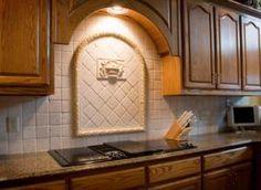 Will You Allow These 30 Gorgeous Backsplashes To Inspire You?: Kitchen Backsplash Ideas: Tile Medallions