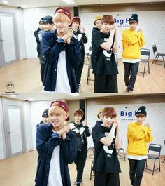 Bangtan Boys just one day