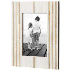 Threshold™ Single Image Frame - Light Brown 4X6