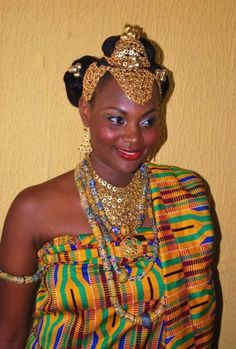 traditional african bride