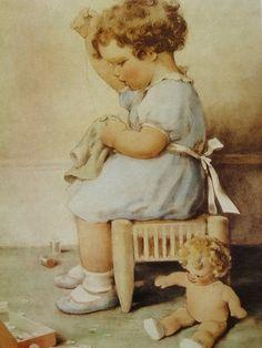 Bessie Pease Gutmann (American, 1876-1960)