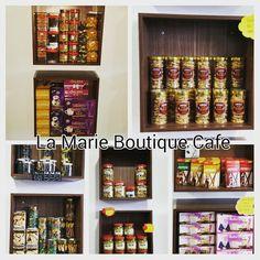 sapa xmau shopping pakaian boleh mai jenguk2 makanan jugak kat sini..mai mai jgn xmai..@lamarieboutiquecafe by isyatul.rosli