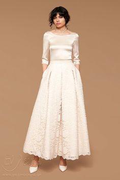 a5417112f7 Νυφικό ZETTERBERG COUTOURE Adele Lace Skirt