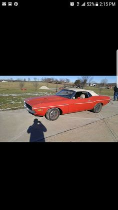 1970 Dodge Challenger before we started working on it