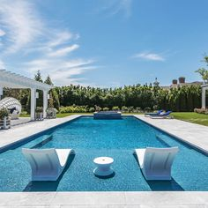 In-Pool Chaise Deep – Ledge Lounger - intras. Swiming Pool, Swimming Pools Backyard, Swimming Pool Designs, Pool Landscaping, Florida Landscaping, Ledge Lounger, Florida Pool, Rectangle Pool, Pool House Plans