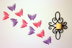 Hey, I found this really awesome Etsy listing at https://www.etsy.com/listing/200629854/paper-butterflies-girls-room-decor