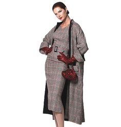 Vogue Sewing Pattern 1137  Very Loose Fit Lined Reversible Coat Dress Size 16-22 #VOGUE #ALLOCCASION