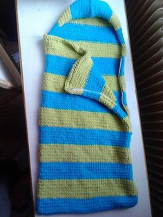 Pletený spací vak pro mimi :)
