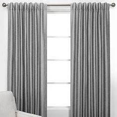 """""""Vienna Panels - Silver from Z Gallerie"""" Light diffusing Silver Curtains, Tab Curtains, Stylish Home Decor, Affordable Home Decor, Furniture Sale, Furniture Decor, Silver Home Accessories, Curtain Texture, Drapery Panels"""