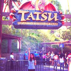The BEST ride @Six Flags Magic Mountain