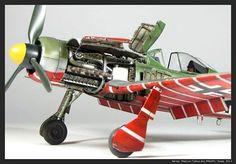 """Βy Goina Maxim """" FW190 D-9, JV44 """"Red 3 ″ 1/48 Tamiya"""