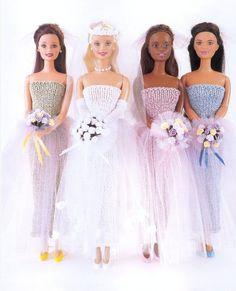 Barbie Knitting Patterns, Barbie Patterns, Dress Sewing Patterns, Doll Clothes Patterns, Clothing Patterns, Knit Patterns, Barbie Clothes, Barbie Dolls, Crochet Doll Clothes