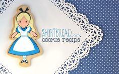 Shortbread Cookie Recipe {& Alice in Wonderland Cookies}