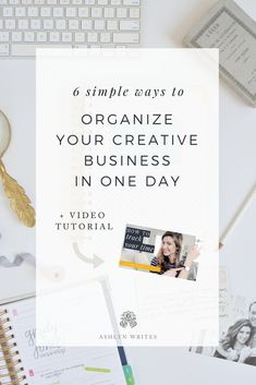 How to organize your small business productivity tips from Ashlyn Carter Starting A Business, Business Planning, Business Tips, Online Business, Business Design, Business Entrepreneur, Business Marketing, Online Entrepreneur, Email Marketing