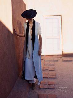 MAP - News – Will Davidson Shoots Fashion at Georgia O'Keeffe's Home for Vogue Australia