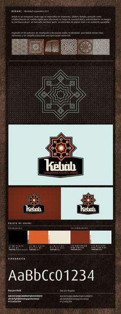 Kebab by Elias Mule, via #Behance #Design #Identity #Logo #Branding #Brandboard