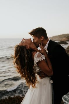 Romantic Sunset Elopement on the cliffs of Big Sur Wedding Photography Poses, Wedding Poses, Wedding Photoshoot, Wedding Couples, Wedding Dresses, Wedding Photographie, Perfect Wedding, Dream Wedding, Wedding Gifts For Groom