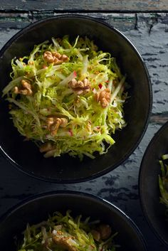 NYT Cooking: Savoy Cabbage Slaw With Applesauce Vinaigrette and Mustard Seeds
