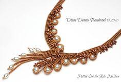 Puttin' On the Ritz Necklace - Diane Dennis -  http://www.dianedennisbeadwork.com/Gallery_4-What_s_New.html