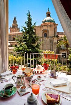 Antica Badia Relais Hotel, Ragusa, Sicily.