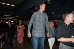 Former NBA player Shawn Bradley at the #MeetTheMormons movie premiere. Learn more about the movie at meetthemormons.com -- exclusively in theaters 10/10!