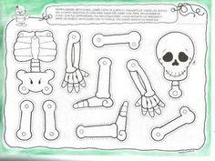 Las chorradikas de Laury: patrón esqueleto halloween