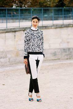 Vanessa Jackman: Paris Fashion Week SS 2014....Caroline