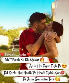Love and friendship WhatsApp and face book Attitude collection amazing status in Hindi 2020 One Love Quotes, Love Quotes For Girlfriend, Muslim Love Quotes, Love Quotes Poetry, Couples Quotes Love, Love Picture Quotes, Love Husband Quotes, Love Quotes In Hindi, Beautiful Love Quotes