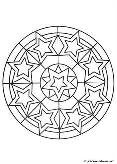 50 Best Mandalas For Kids Images Mandalas For Kids Coloring