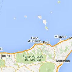 Carte de Sicile plan des 53 lieux à voir