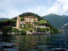 Villa Balbianello on Lake Como. (Now a museum.)