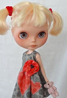 OOAK Custom Blythe doll  POPPY by Marinart, $449.00