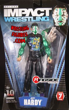 Jeff Hardy TNA Wrestling Deluxe Impact Series 7 Action Figure for sale online The Hardy Boyz, Jeff Hardy, Global Force Wrestling, Figuras Wwe, Wwe Game, Eddie Guerrero, Wwe Toys, Wwe Action Figures, Professional Wrestling