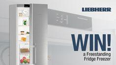 #Liebherr Freestanding Fridge Freezer competition - Winner: Alli Evans