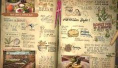 jamie at home scrapbook - Αναζήτηση Google Food Journal, Journal Pages, Journals, Vegetable Farming, Slow Living, Organic Vegetables, Printable Paper, Bullet Journal, Scrapbook