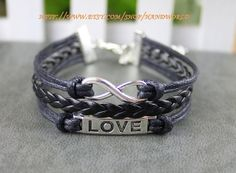 ture love will go on bracelet silver love bracelet by handworld, $3.59