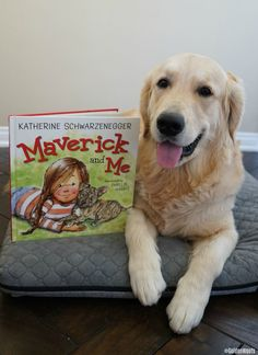 Teaching Kids About Pet Adoption Book Maverick and Me #ad #childrensbook #bookreviews