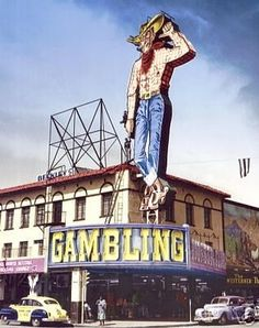 Vegas Vic; Fremont St 1946