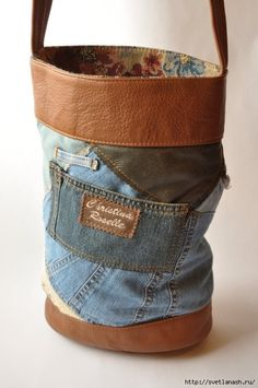 Crafty Bags From Old Clothes - Sortrature d189a9e20bef5