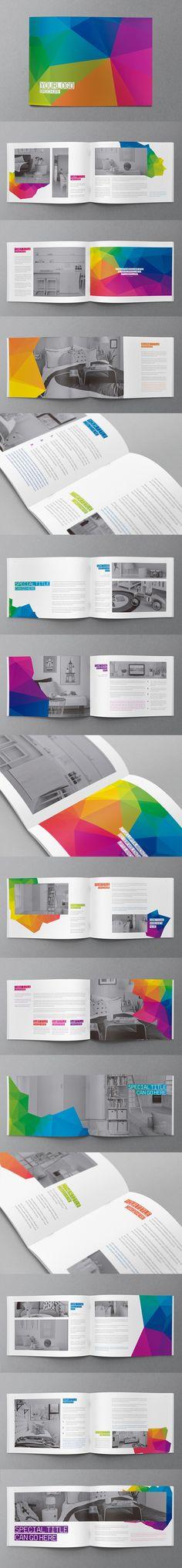 Abstract Modern Brochure. Download here: http://graphicriver.net/item/abstract-modern-brochure/11159106?ref=abradesign #brochure #design