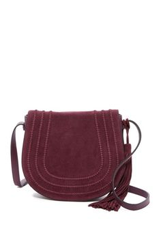Izzi Leather Crossbody by Vince Camuto on @nordstrom_rack
